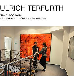 Ulrich Terfurth Rechtsanwalt, Fachanwalt für Arbeitsrecht