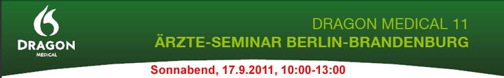 spezielles Seminar für Dragon Medical